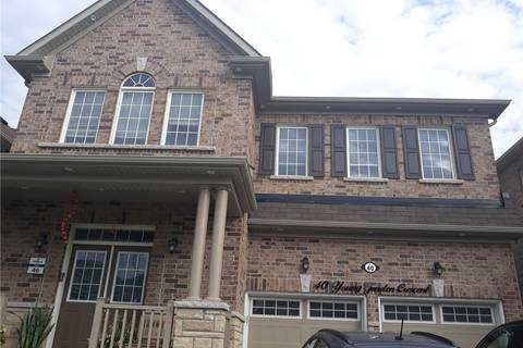 House for rent at 40 Young Garden Cres Unit ( Bsmt) Brampton Ontario - MLS: W4454650