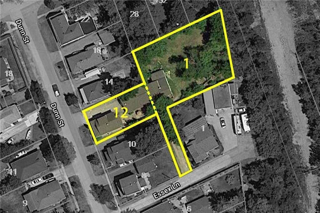 Townhouse for sale at 12 Dunn St / 1a Essex Ln St. Catharines Ontario - MLS: 30828084