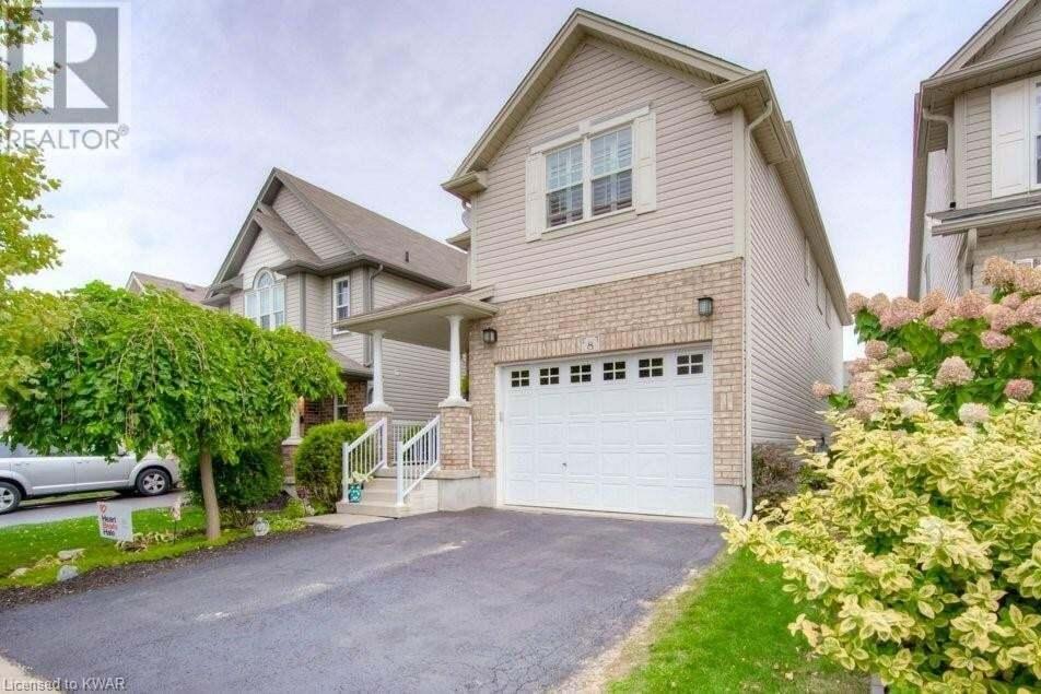 House for sale at 8 Frankfurt St Kitchener Ontario - MLS: 40028520