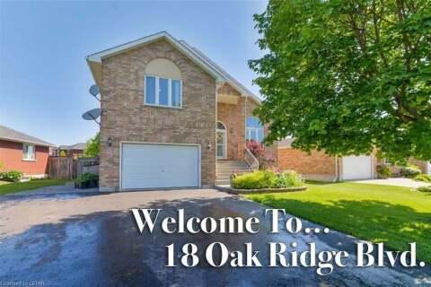 House for sale at 18 Oak Ridge Blvd Belleville Ontario - MLS: 266900