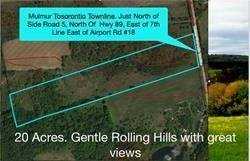Residential property for sale at 0 Con 8 Ehs Lot 7 Rd Mulmur Ontario - MLS: X4333904