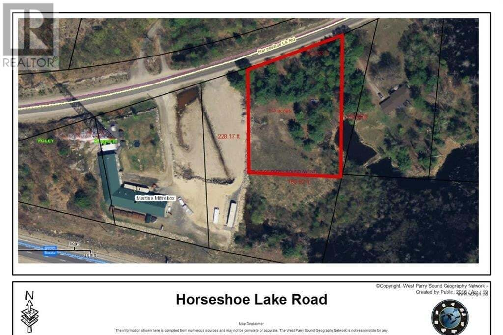 Home for sale at 0 Horseshoe Lake Rd Seguin Ontario - MLS: 248652