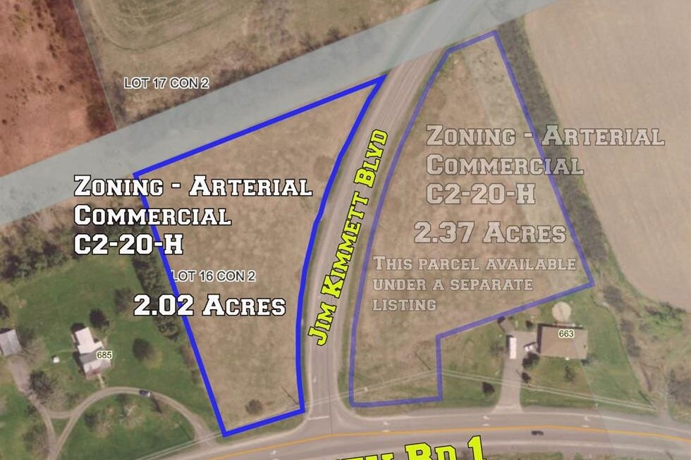 Residential property for sale at 0 Jim Kimmett Blvd Greater Napanee Ontario - MLS: K20003808