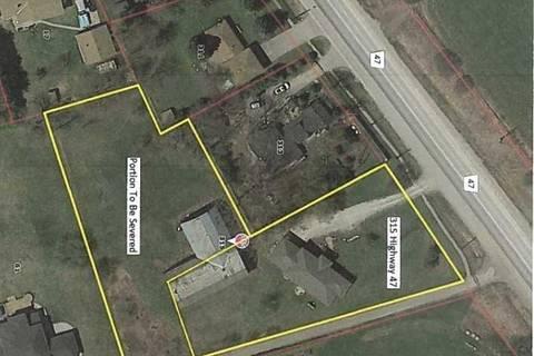 Home for sale at 0 Ridge Rd. Rd Uxbridge Ontario - MLS: N4689349