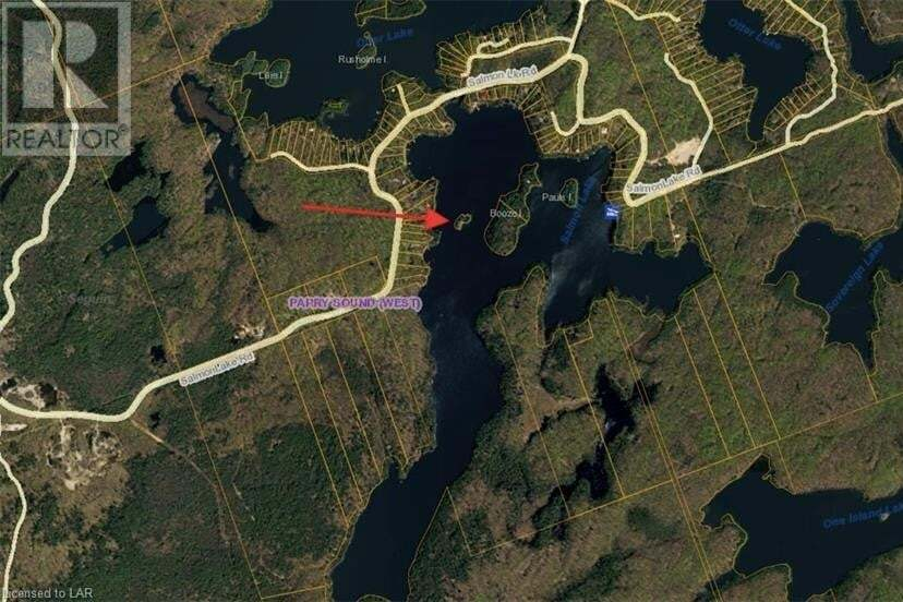 Residential property for sale at 0 Salmon Lake W/a Is Seguin Ontario - MLS: 236494