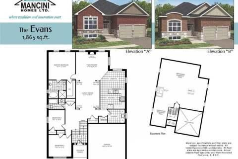 House for sale at 0 Sierra Dr Orillia Ontario - MLS: 40035006