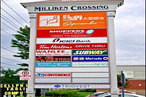 Commercial property for lease at 5631 Steeles Ave Apartment 007 Toronto Ontario - MLS: E4664257