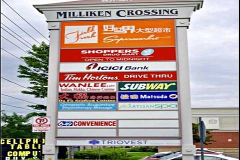 Commercial property for lease at 5651 Steeles Ave Apartment 009 Toronto Ontario - MLS: E4674749