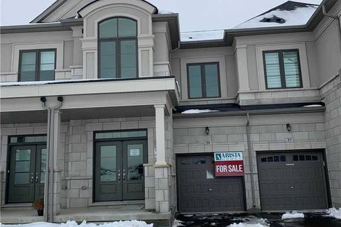 Townhouse for sale at 59 Bawden (th 034) Dr Richmond Hill Ontario - MLS: N4689693