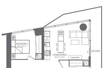Apartment for rent at 100 Harbour St Unit 6304 Toronto Ontario - MLS: C4775207
