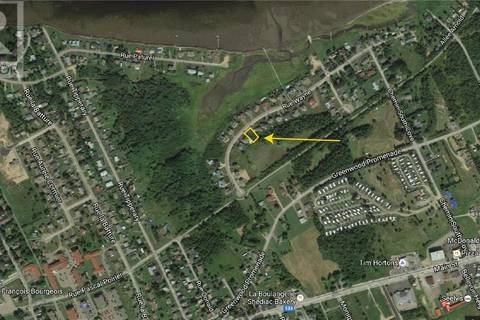 Residential property for sale at 0 Lot 04-20 Wayne St Unit 04-20 Shediac New Brunswick - MLS: M118334