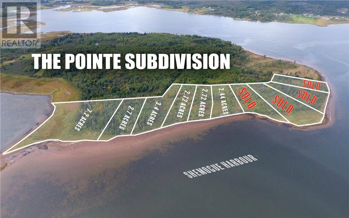 Residential property for sale at Lot 05-05 Sunrise Ln Unit 05-05 Shemogue New Brunswick - MLS: M122294