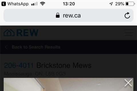 Apartment for rent at 4011 Brickstone Me Unit 206 Mississauga Ontario - MLS: W4773099