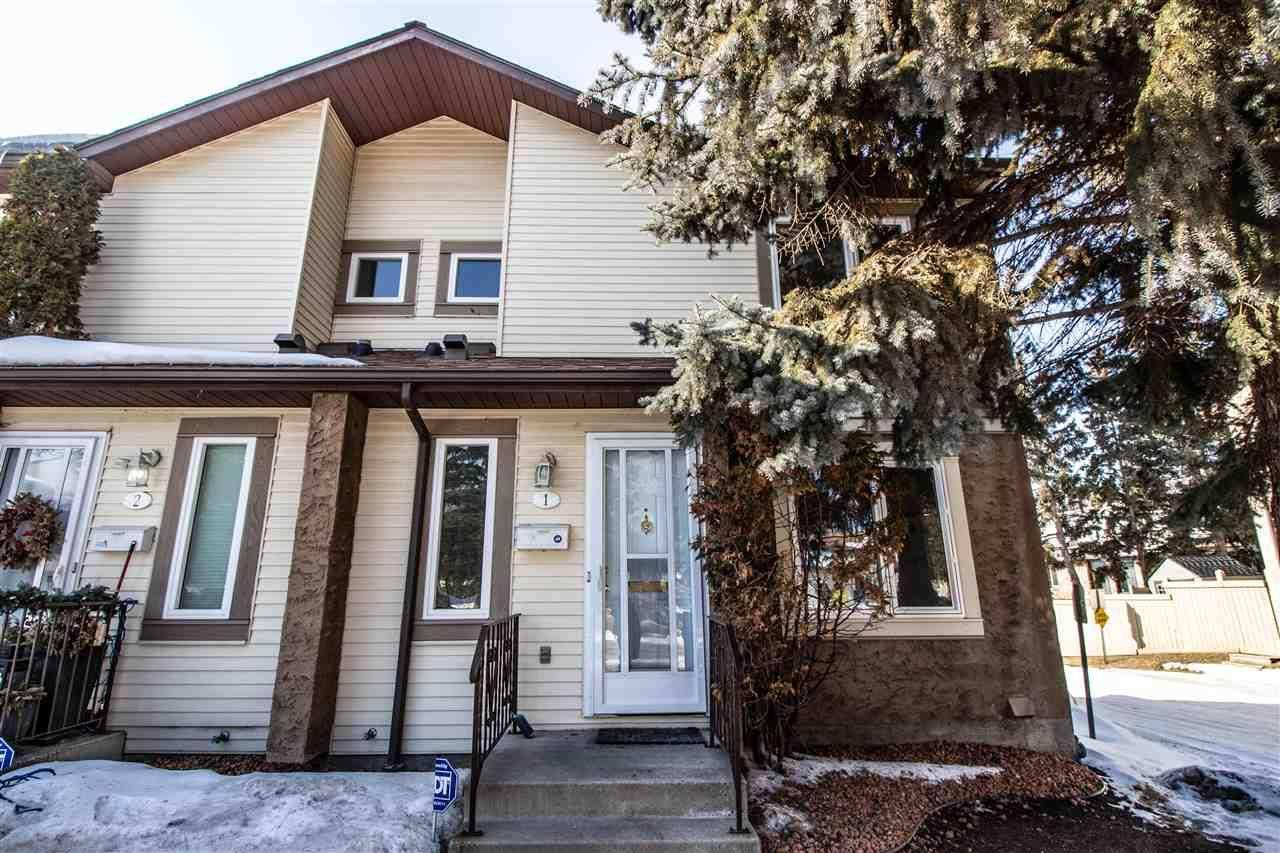 Townhouse for sale at 11111 26 Ave Nw Unit 1 Edmonton Alberta - MLS: E4192479