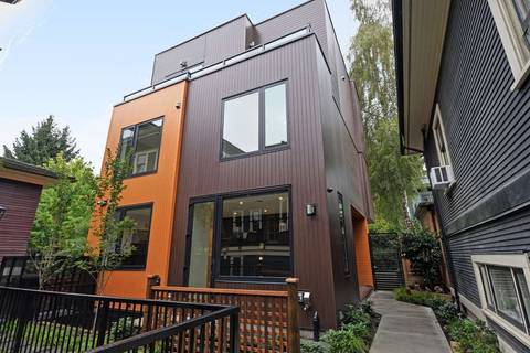 Townhouse for sale at 1152 Comox St Unit 1 Vancouver British Columbia - MLS: R2407322