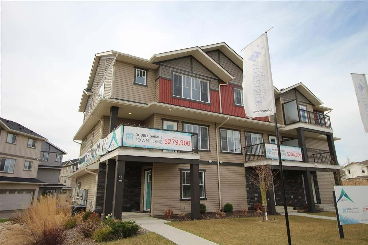 Townhouse for sale at 12815 Cumberland Rd NW Unit 1 Edmonton Alberta - MLS: E4198344