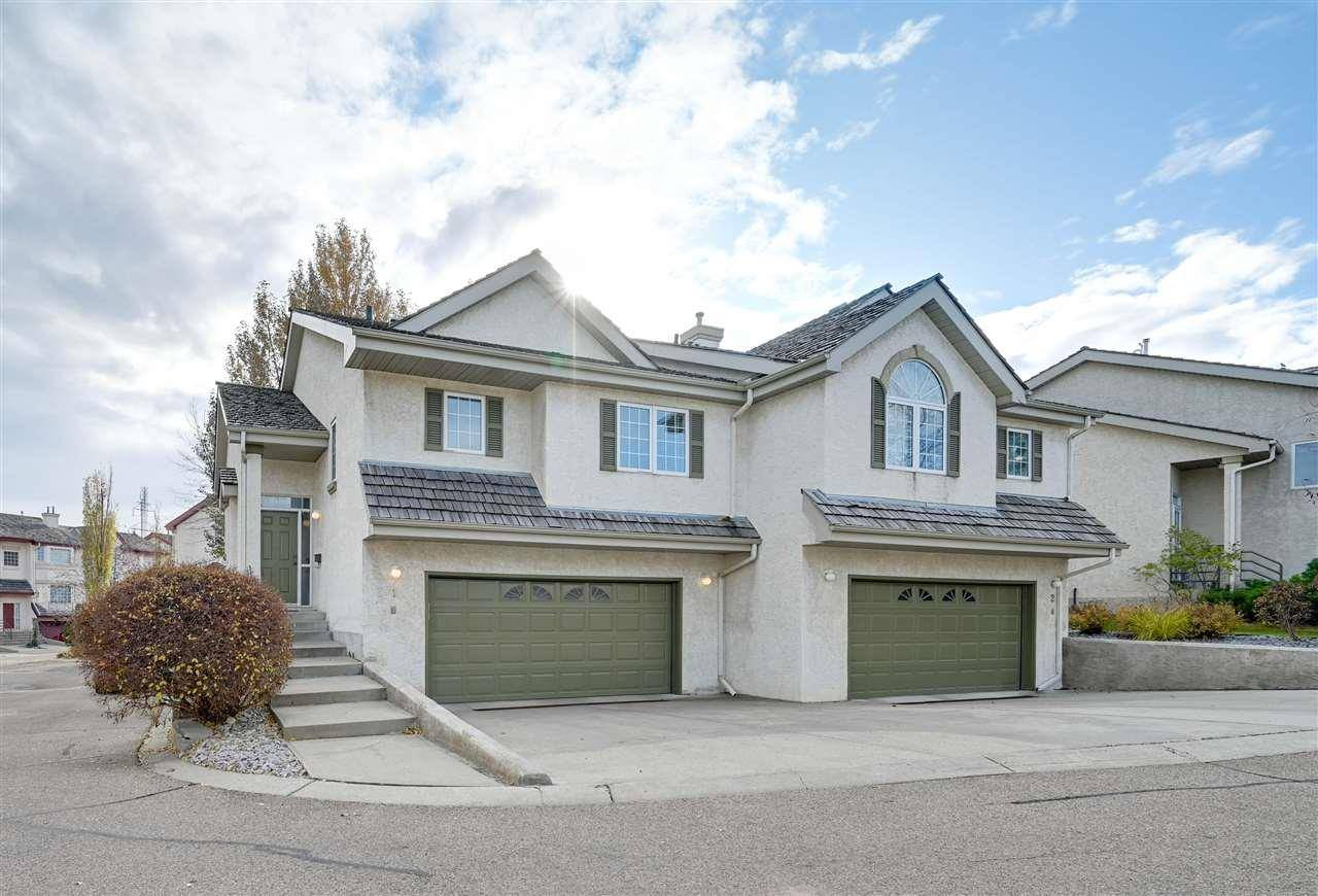 Townhouse for sale at 1283 Carter Crest Rd Nw Unit 1 Edmonton Alberta - MLS: E4178411