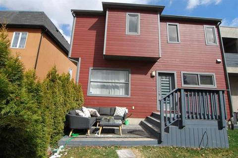 Townhouse for sale at 14315 Stony_plain Rd Nw Unit 1 Edmonton Alberta - MLS: E4154417