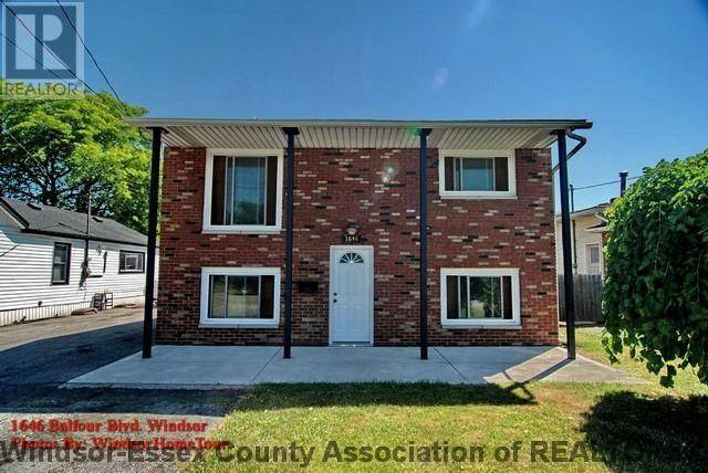 Townhouse for rent at 1646 Balfour  Unit 1 Windsor Ontario - MLS: 20001862