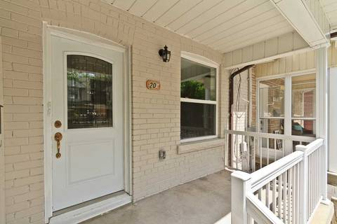 Townhouse for rent at 20 Delaney Cres Unit #1 Toronto Ontario - MLS: C4442516