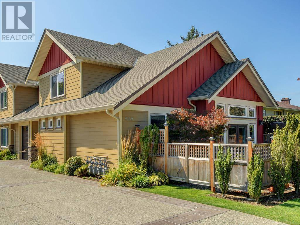 Townhouse for sale at 2419 Malaview Ave Unit 1 Sidney British Columbia - MLS: 415359
