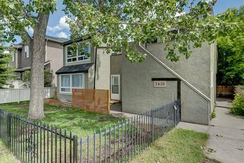 Townhouse for sale at 2420 29 St Southwest Unit 1 Calgary Alberta - MLS: C4254939