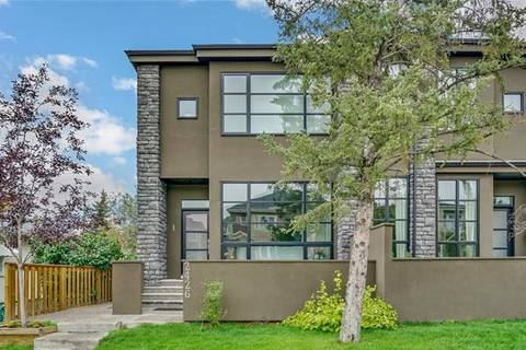 Townhouse for sale at 2426 29 St Southwest Unit 1 Calgary Alberta - MLS: C4248309