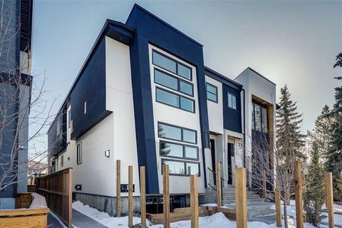 Townhouse for sale at 2436 29 St Southwest Unit 1 Calgary Alberta - MLS: C4284947