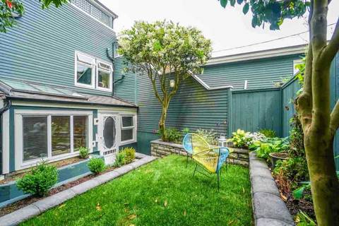 Townhouse for sale at 2682 8th Ave W Unit 1 Vancouver British Columbia - MLS: R2351599
