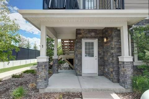 Townhouse for sale at 35 West Coach Manr Southwest Unit 1 Calgary Alberta - MLS: C4280937