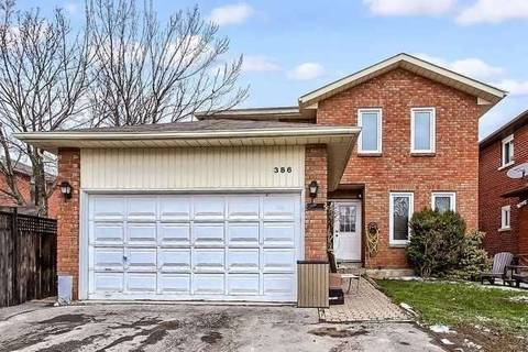 House for rent at 386 Hickling Tr Unit 1 Barrie Ontario - MLS: S4407555