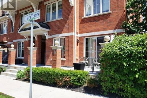 Townhouse for sale at 39 Hays Blvd Unit 1 Oakville Ontario - MLS: 30746898