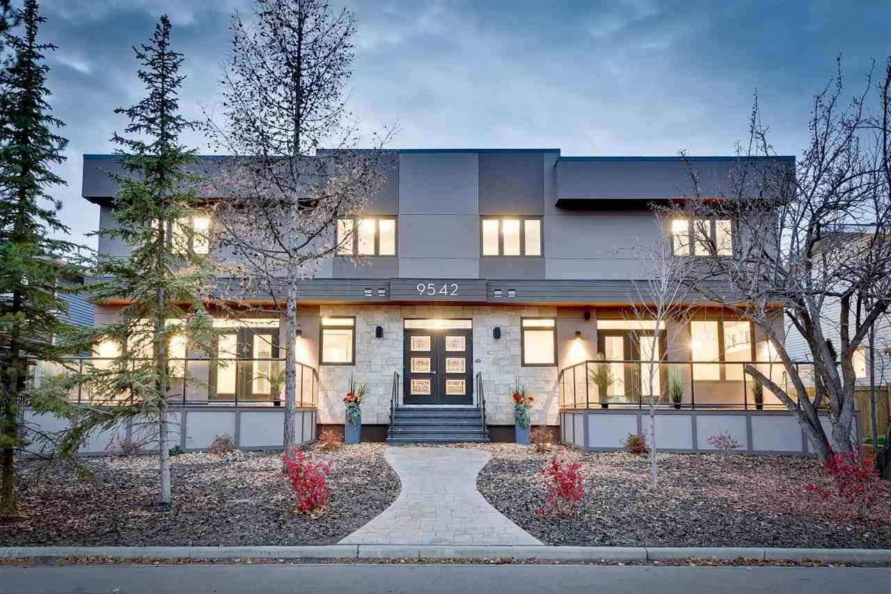 Townhouse for sale at 9542 142 St Nw Unit 1-4 Edmonton Alberta - MLS: E4186468
