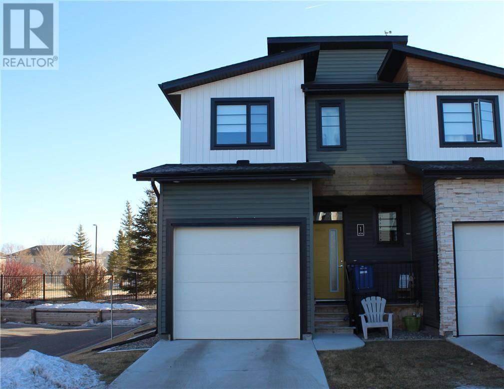 Townhouse for sale at 434 Highlands Blvd W Unit 1 Lethbridge Alberta - MLS: ld0185202