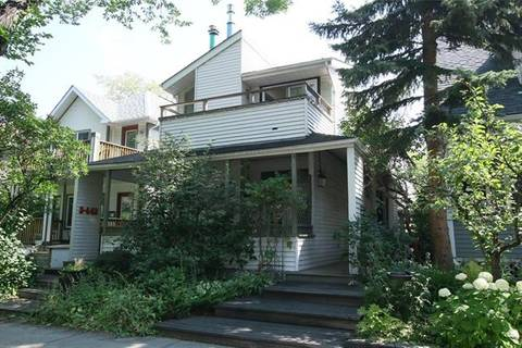 Townhouse for sale at 442 12 St Northwest Unit 1 Calgary Alberta - MLS: C4200750