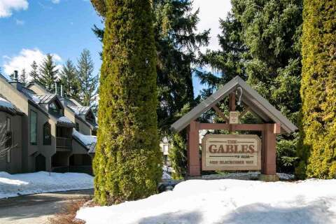Townhouse for sale at 4510 Blackcomb Wy Unit 1 Whistler British Columbia - MLS: R2447420