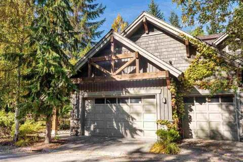 Townhouse for sale at 4668 Blackcomb Wy Unit 1 Whistler British Columbia - MLS: R2508671