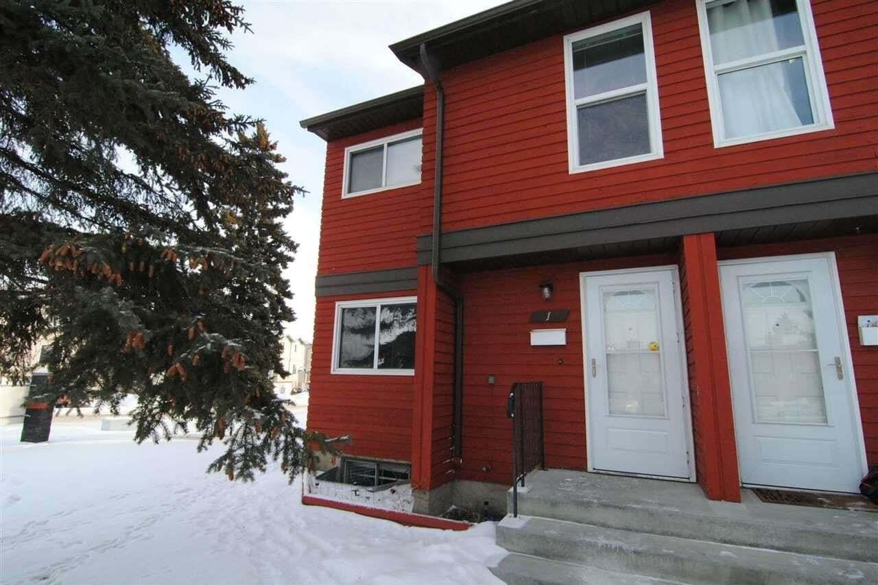 Townhouse for sale at 4707 126 Av NW Unit 1 Edmonton Alberta - MLS: E4190570