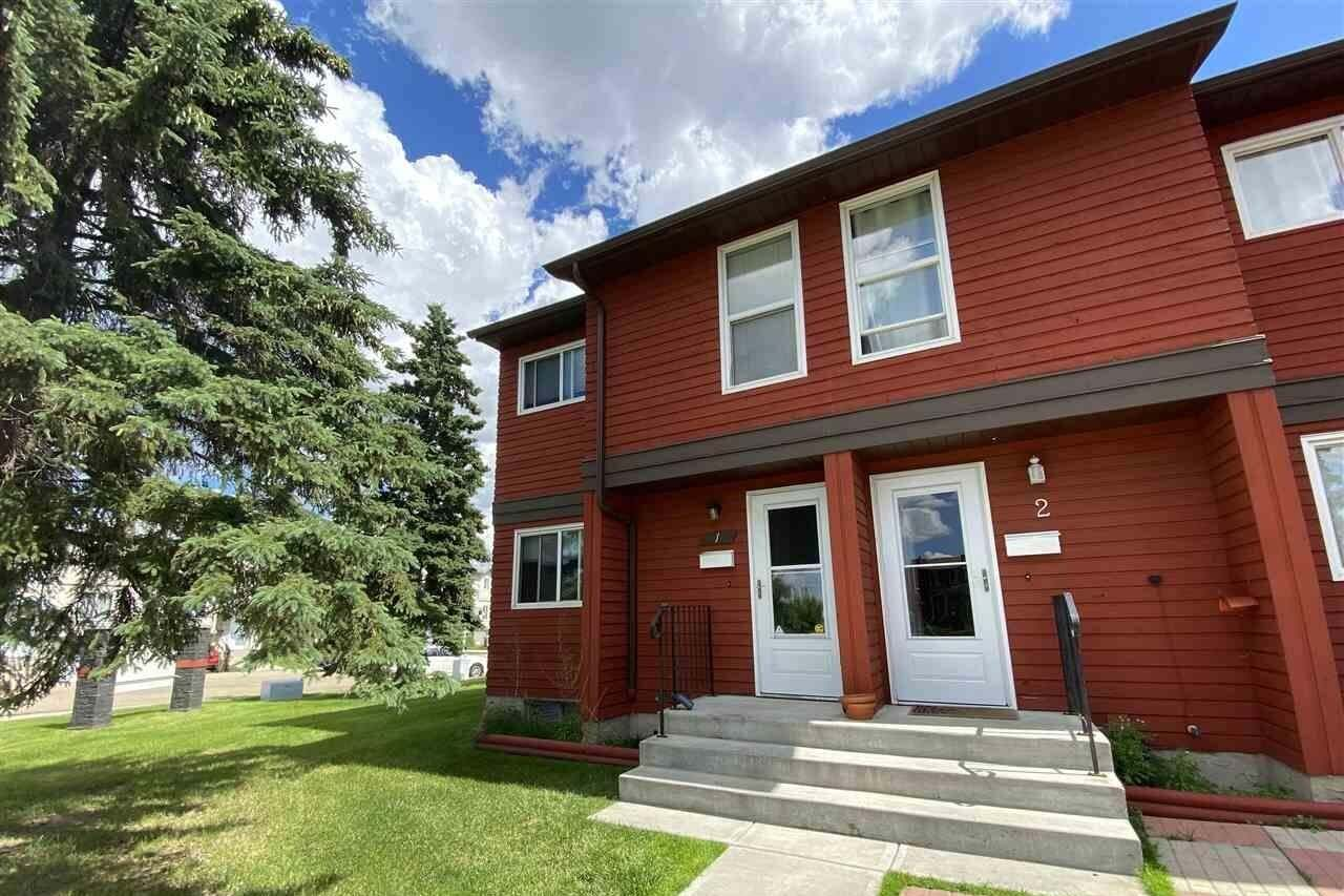 Townhouse for sale at 4707 126 Av NW Unit 1 Edmonton Alberta - MLS: E4205556