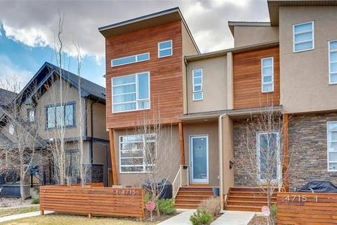 Townhouse for sale at 4713 17 Ave Northwest Unit 1 Calgary Alberta - MLS: C4241820