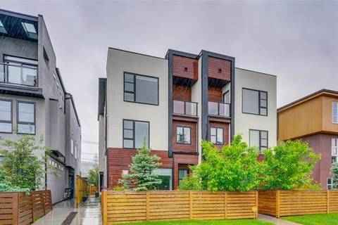 Townhouse for sale at 4731 17 Ave Northwest Unit 1 Calgary Alberta - MLS: C4255258