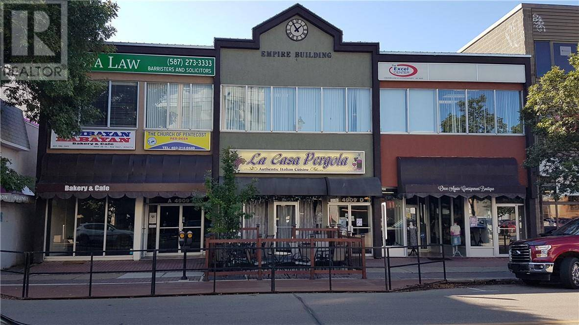 Commercial property for lease at 4909 48 St Apartment 1 Red Deer Alberta - MLS: ca0178022