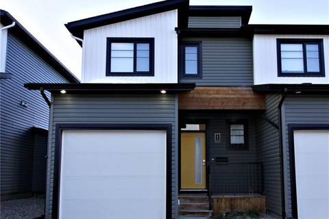 Townhouse for sale at 498 Highlands Blvd W Unit 1 Lethbridge Alberta - MLS: LD0180657