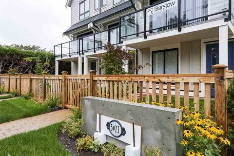 Townhouse for sale at 5071 Steveston Hy Unit 1 Richmond British Columbia - MLS: R2411718