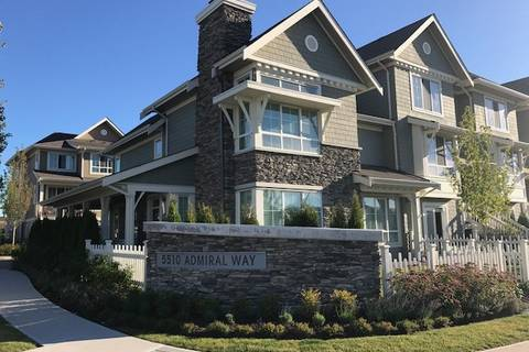 Townhouse for sale at 5510 Admiral Wy Unit 1 Ladner British Columbia - MLS: R2429844