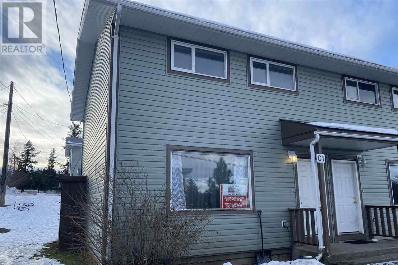 Townhouse for sale at 565 Birch Ave Unit 1 100 Mile House British Columbia - MLS: R2519536