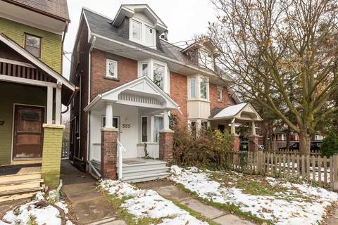 Townhouse for rent at 583 Indian Rd Unit 1 Toronto Ontario - MLS: W4662998
