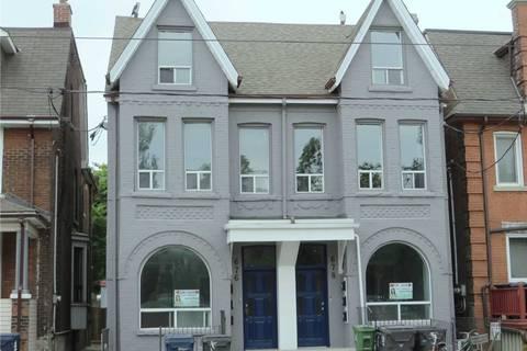 Townhouse for rent at 676 Bathurst St Unit #1 Toronto Ontario - MLS: C4670609