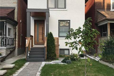 House for rent at 711 Crawford St Unit 1 Toronto Ontario - MLS: C4693496