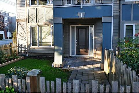 Townhouse for sale at 7360 St. Albans Rd Unit 1 Richmond British Columbia - MLS: R2435329